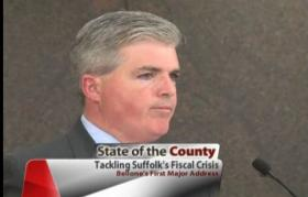 County Executive Steve Bellone delivers State of the County address